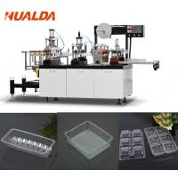 Vacuum Forming Food Container Making Machine For Mini Cake / Chocolate Manufactures