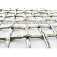 Heavy Duty Crimped Wire Mesh Aisi304 316L For Pharmaceuticals Industry / Food Industry Manufactures