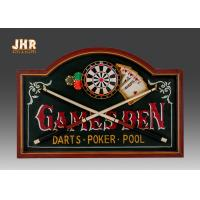 Antique Wooden Wall Plaques Decorative Wall Signs MDF Wall Mounted Plaque Signs Pub Sign Manufactures