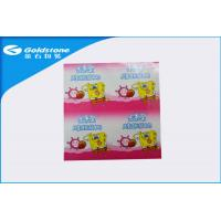 China Clear Print Aluminum Heat Seal Film Roll For Juice / Yogurt / Milk / Coffee Packaging on sale