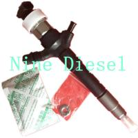 High Reliability Mitsubishi Diesel Fuel Injectors 095000-5600 1465A041 Manufactures