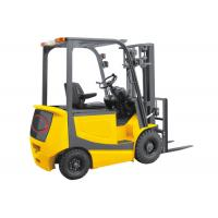 China Yellow Industrial Lift Truck , Battery Powered Forklift With Two Lifting Cylinder on sale