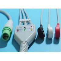 Siemens SC7000 / 8000 ECG Patient Cable 7 Pin Grabber / Snap 0.7lb Weight Manufactures