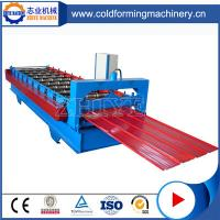 China New Style Blue Steel Botou Zinc Roofing Roll Forming Machine on Sale on sale