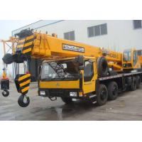 China 4 Section Boom Mobile Truck Crane With 34 Meter Height 35 Ton Lifting Capacity on sale