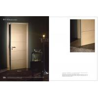 HS-16 Swing Side Hinged Doors With Hdf Board, Durable Hinged Fir Wooden Interior Door 2100*900mm Factory Manufactures