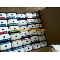 Straight IOS GPS GPRS IPS LTE Touch Screen Cell Phones Unlocked  / Apple Iphone 5c Manufactures