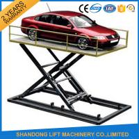 China Hydraulic Automotive Scissor Lift For Car Underground Parking Lift with CE on sale