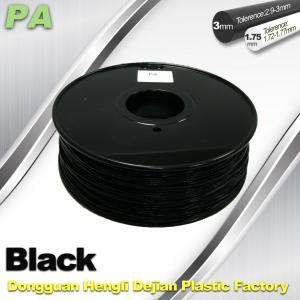 3D Printer Filament 3mm 1.75mm Black Nylon Filament PA Filament Manufactures