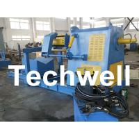 Active Uncoiling / 10 Ton Hydraulic Decoiler Curving Machine With Coil Car TW-DECOILER Manufactures