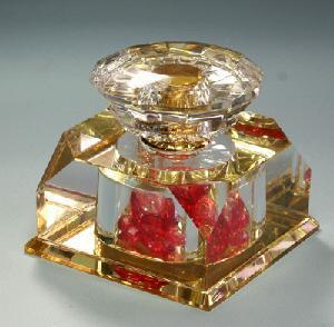 Crystal Perfume Bottle (JD-QSP-323) Manufactures