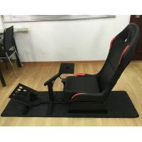 China Adjustable Folding Racing Simulator Seat With Support of Steering Wheel+Pedal+Sh 1012B on sale