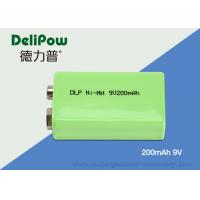 6F22 High Capacity 9v Rechargeable Battery For Emergency Light Manufactures