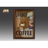 Coffee Shop Wall Art Sign Decorative Wood Wall Plaques Antique Home Wall Decor Manufactures