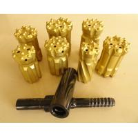 T38 T45 T51 Tungsten Carbide Drill Bits With Spherical / Ballistic Buttons Manufactures