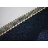 7 * 7 Indigo 100 Cotton Denim Fabric By The Yard , Shrink Proof Cotton Jeans Cloth Manufactures