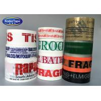 China Custom Printed Bopp Adhesive Tape / All Color Tape Printing With Logo on sale