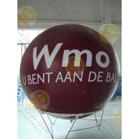 Inflatable Mirrored Big Round Balloons En71 / Astm For Advertisement Manufactures