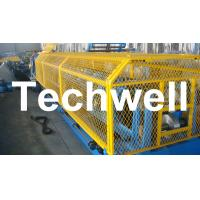 Automatic Size Adjustable CZ Purlin Roll Forming Machine With 1.5 - 3.2mm Thickness Manufactures
