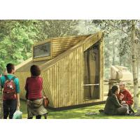 Wooden Design Prefab Steel House Lodge House With Loft For Resort Holiday Manufactures