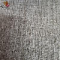 Simulated linen polyester fabric for sofa cushions Manufactures