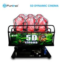 Shooting Game 5D Theater Equipment Multiple Players With Electric / Hydraulic System Manufactures
