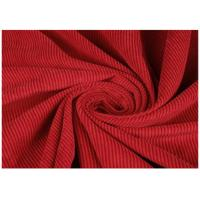 China 100% Cotton Red Color Wide Wale Corduroy Fabric For Jacket , Eco Friendly on sale