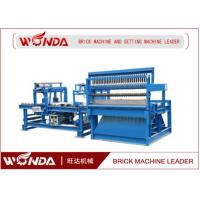 Fly Ash Tunnel Kiln Fried Automatic Brick Cutting Machine 15 Times / Min Capacity Manufactures