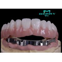 China High Retention Bar Attachment Metal Based Dentures For Comestic Defects Implants on sale