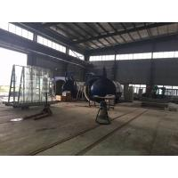 2M Or Customized Inner Diameter Autoclave Machine / Glass Autoclave For Bricks / Glass / Wood Manufactures