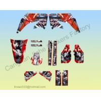 Matter Hatter Graphic Kit For CRF450 Dirt bike Pit Bike Decal Kit Manufactures