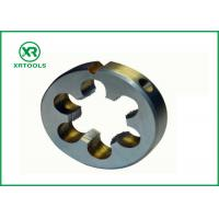 Quality Metric / Inch Pipe Threading Dies , High Hardness 1 Inch Die TIAIN Coated for sale