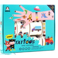 Non - Toxin Eco Friendly Small Baby Playing Toys Temporary Tattoos For Kids Manufactures