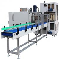 Easy operation fully-auto sleeve sealer & shrink tunnel packing machine Manufactures