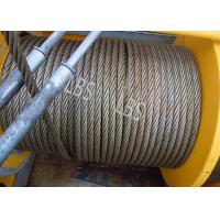 Three Layers Spooling Winch Drums with Lebus Grooving for Lifting Area Manufactures