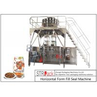 Doypack Premade Pouch Packaging Machine With Multi Head Scale And Metal Detector Machine Manufactures