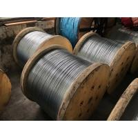 Hot-dipped Galvanized Steel Wire Packed on reel for ACSR Conductor Manufactures