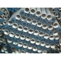 1/2-8.Hot dip galvanized steel pipes and tube with thread Manufactures