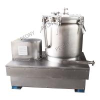 SS304 Vertical Basket Centrifuge Explosion Proof CBD Washing Oil Extraction Machine Manufactures
