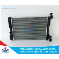 Corolla ZZE142 ' 08 MT Toyota Radiator Aluminum Radiators For Classic Cars Manufactures