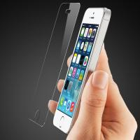 anti broken Iphone 5/5s tempered glass screen protector Manufactures