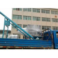 Stainless Steel Ribbon Blender Machine With Screw Conveyor Line Manufactures