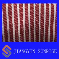 China Wear - Resistant Red Nylon Fabric For Bags / Luggage Polyester Oxford Fabric on sale
