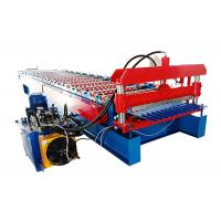 Popular Corrugated Steel Roofing Sheet Roll Forming Machine For Wall And Roof Of House Manufactures