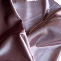 China 59/63-inch Wide Polyester/Cotton Jacquard Satin Fabric for Jacket, Dress, Home Textile and Underwear on sale