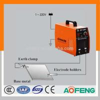 China Iron plate design new inverter DC MMA IGBT welding machine--100A/120A/140A/160A/180A/200A small current and portable on sale
