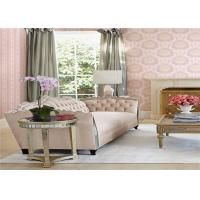 European Style Washable Vinyl Wall Coverings Durable Peelable Vinyl Wallpaper Manufactures