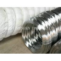 Zinc Coated 8 Gauge Steel Wire , 18 Gauge Binding Wire For Nail Making / Barbed Wire Manufactures