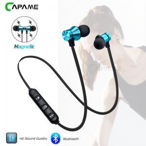 wholesale  Wireless Headphone Bluetooth Earphone Magnetic Headset Neckband Sport Running Bluetooth Earphones Manufactures