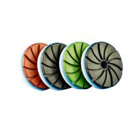 Snail Lock Diamond Stone Polishing Pads Multipurpose High Gloss Finishes Never Fade Manufactures